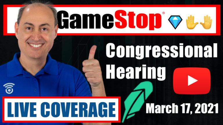 GameStop ($GME) House Hearing with Robinhood, Reddit, DFV, Citadel, Melvin Capital (Live Coverage)